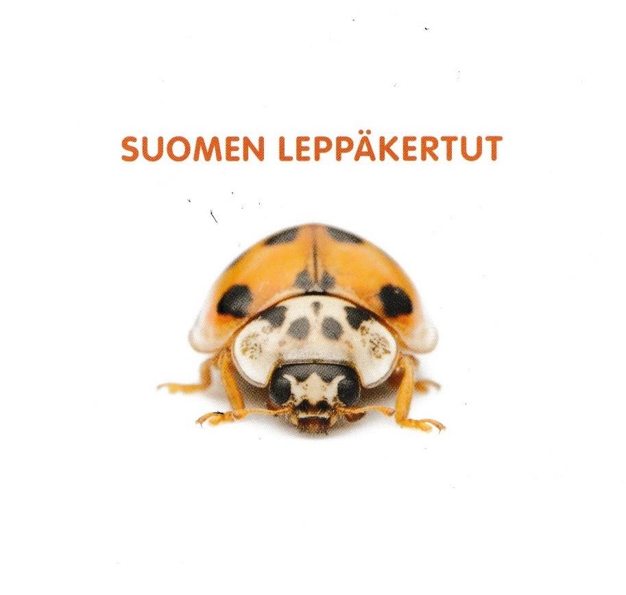 """""""Suomen Leppäkertut"""" kirjan kansi."""